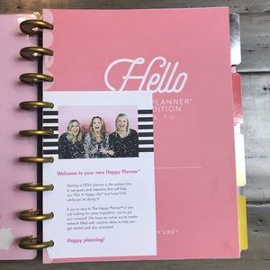 Me & My Big Ideas Other - The Happy Planner Undated Budget Planner - Classic
